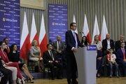 Wystąpienie Premiera Mateusza Morawieckiego podczas spotkania z mieszkańcami - Wystąpienie Premiera Mateusza Morawieckiego podczas spotkania z mieszkańcami